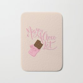 Miss u a Choco-lot Bath Mat