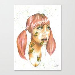Beetle Juice Canvas Print