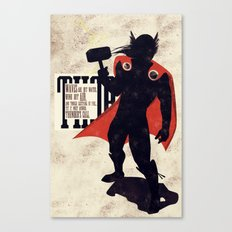 Thor: Call of Thunder Canvas Print