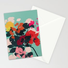 cherry blossom 5 h Stationery Cards