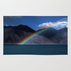The Rainbow at Pangong! Rug