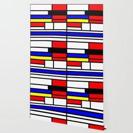 Cubism Painting Art Retro Pattern Wallpaper