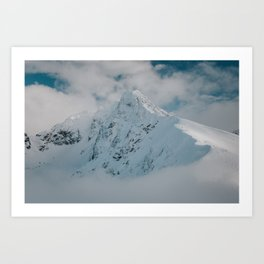 White peak - Landscape and Nature Photography Art Print