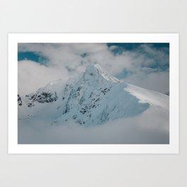 White peak - Landscape and Nature Photography Art Print