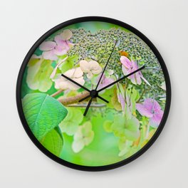 Autumn Poesie Wall Clock