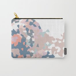 love the world to pieces pinks and grays Carry-All Pouch