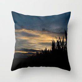 Corn Stalkers Throw Pillow