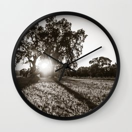 Twin Oaks Wall Clock