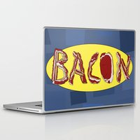 bacon Laptop & iPad Skins featuring Bacon by creativecurran