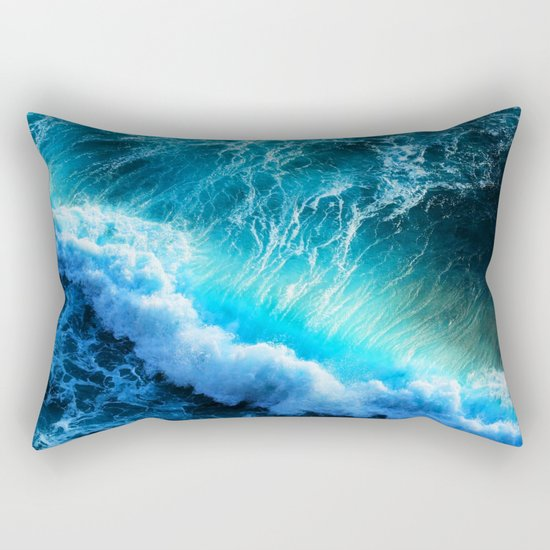 Waves IIV Rectangular Pillow