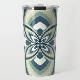 Spiral Rose Pattern E 2/4 Travel Mug
