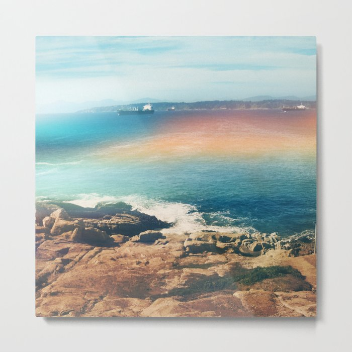 Colours of the sea Metal Print