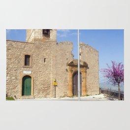 Church - Aidone - Sicily Rug