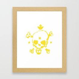 XXX Skull Framed Art Print