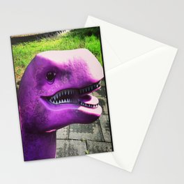 Purple Rex Stationery Cards