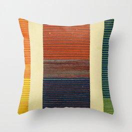 Antique Color Grades Throw Pillow