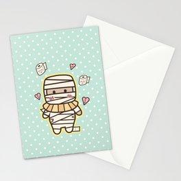 Kawaii Little Mummy Stationery Cards