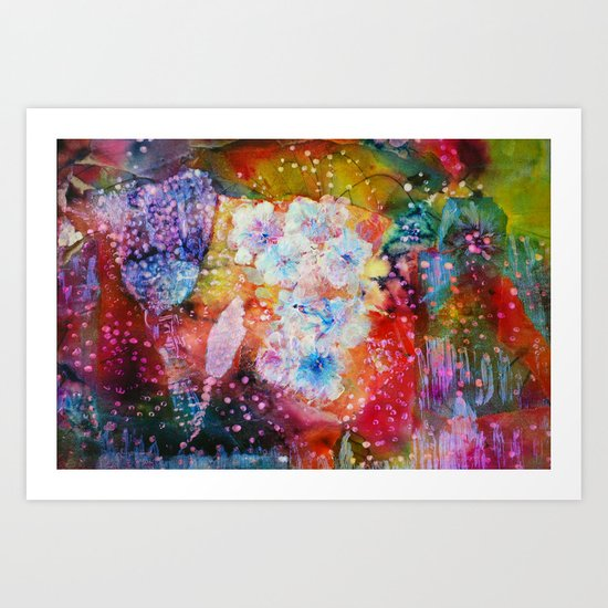 Fiesta Painting  Art Print