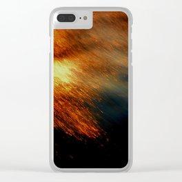 Fiery Clear iPhone Case