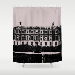 Kew Gardens Museum No. 1 - London Series  Shower Curtain