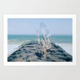 Ocean Angel Art Print