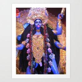 Maha Kali Art Print