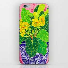 Primula iPhone Skin