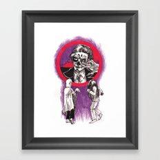 Ghost Dancing Framed Art Print