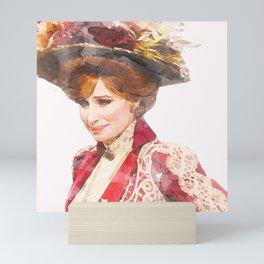 Hello, Dolly! - Barbra Streisand - Watercolor Mini Art Print