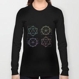 polyhedron 1 Long Sleeve T-shirt