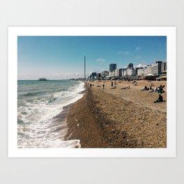 Brighton Beach II Art Print