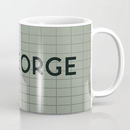 ST. GEORGE   Subway Station Coffee Mug