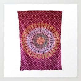 Mandala Wall Art Tapestry Art Print