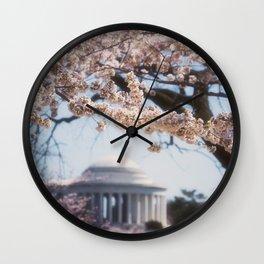 Washington DC in Bloom Wall Clock
