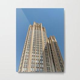 Chicago Tribune Tower Metal Print