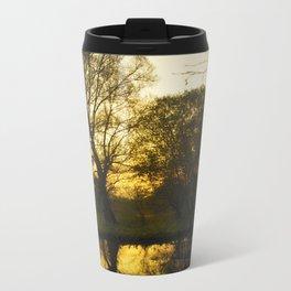 Mellow Yellow Metal Travel Mug