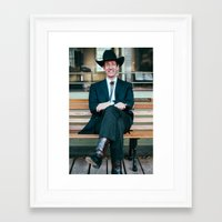 teacher Framed Art Prints featuring Teacher by Cameron Mehl