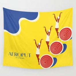 """EX-JU poster """"AEROPUT"""" Wall Tapestry"""