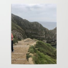 Path to Durdle Door England Poster
