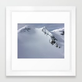 Heli View Framed Art Print