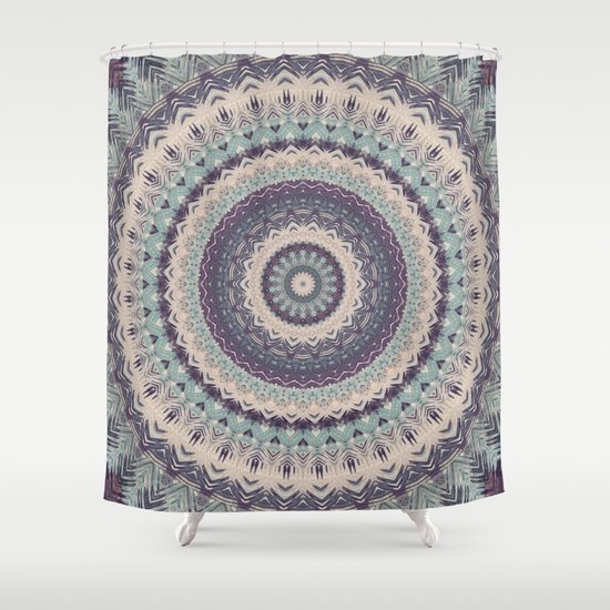 Mandala 275 Shower Curtain By Patterns Of Life