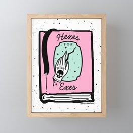 Hexes for Exes Framed Mini Art Print