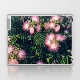 Mimosa Tree Floral Pattern | Photography | Tropical | Pink aesthetic Laptop & iPad Skin