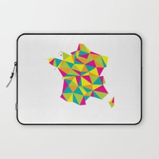 Abstract France Bright Earth Laptop Sleeve