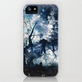 Into the Darkness iPhone Case