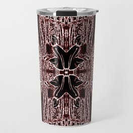 Red Riding Hoods Surrounded by Wolves Travel Mug