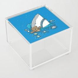The Sleepy Shark Acrylic Box