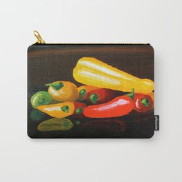 Peppers From a Friend, the painting Carry-All Pouch