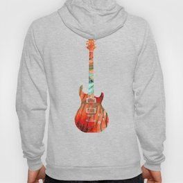 Electric Guitar 2 - Buy Colorful Abstract Musical Instrument Hoody