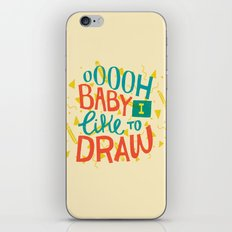 Shimmy Shimmy iPhone & iPod Skin